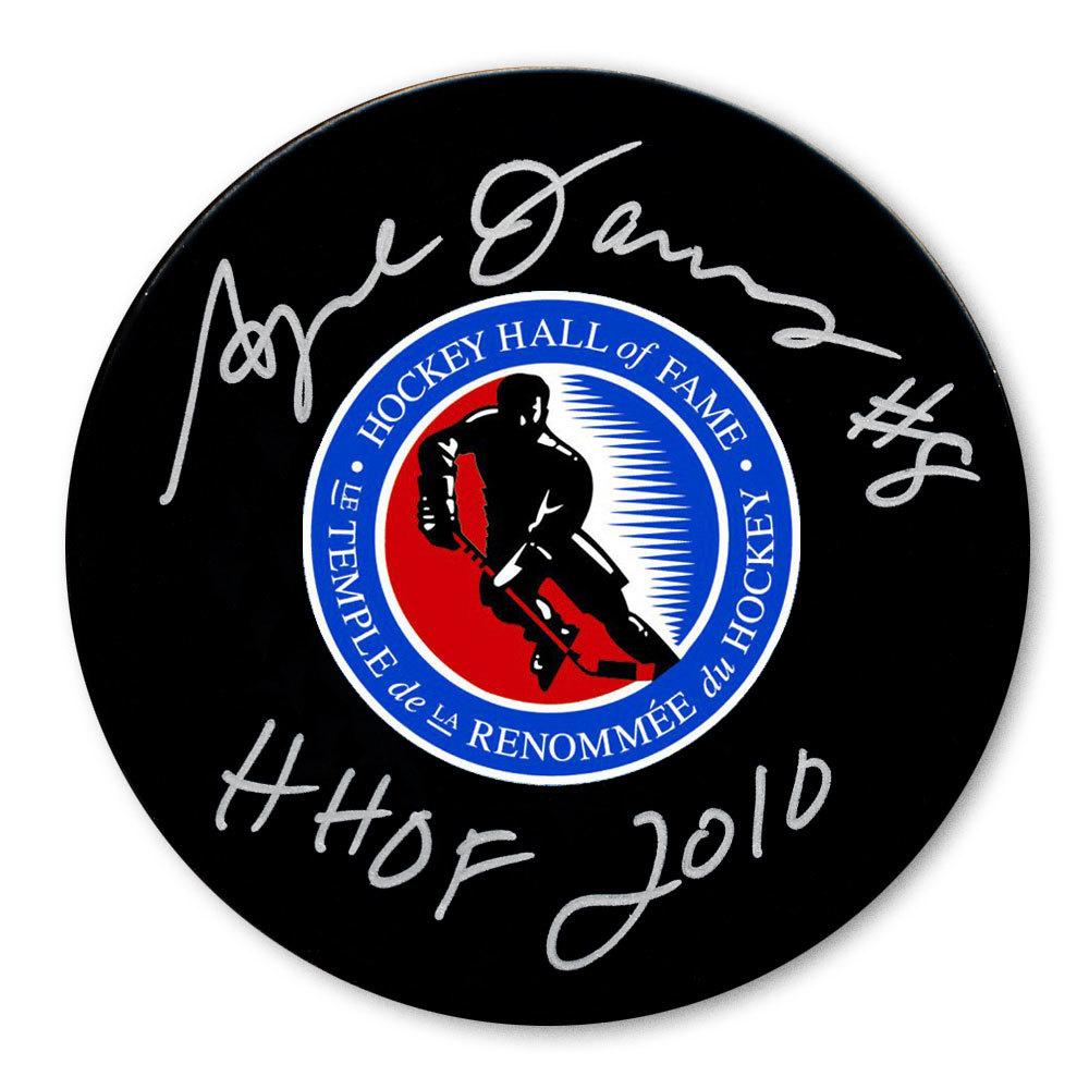 Angela James Hockey Hall of Fame HOF Autographed Puck