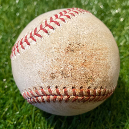 Photo of Game-Used Baseball: Jonathan Villar 671st Career Hit (8/30/19 - BAL @ KC)