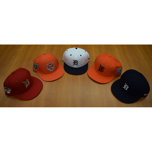 Detroit Tigers Foundation - Clubhouse Issued Cap Collection #10 (NOT MLB AUTHENTICATED)