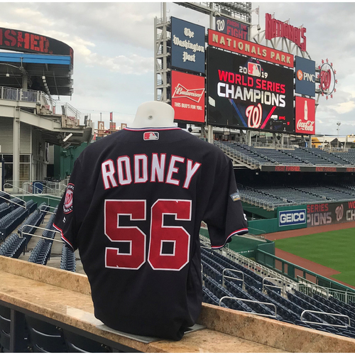 Photo of 2019 NLDS/NLCS Game-Used Jersey: Fernando Rodney