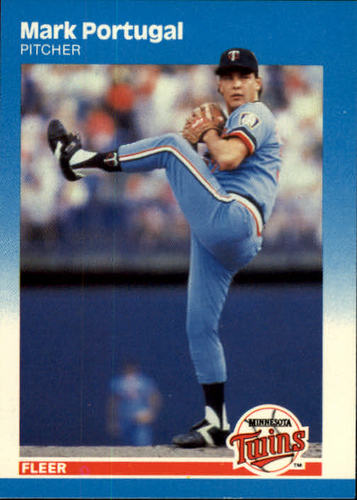 Photo of 1987 Fleer #548 Mark Portugal RC