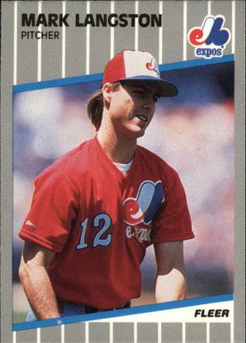 Photo of 1989 Fleer Update #97 Mark Langston