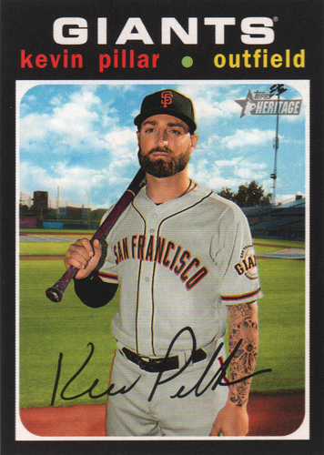 Photo of 2020 Topps Heritage #394 Kevin Pillar