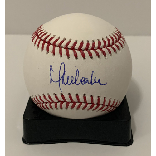 Photo of Mike Leake Autographed Ball