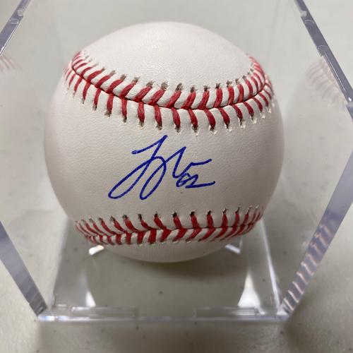 Photo of Autographed Baseball - Logan Webb