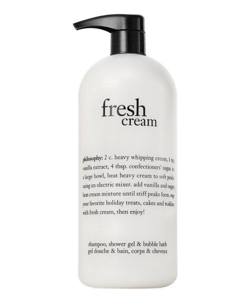Photo of Philosophy Fresh Cream Shampoo, Shower Gel & Bubble Bath