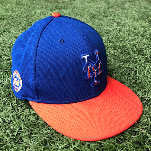 Photo of Team Issued Blue Alt. Home Hat - #77 - 2020 Spring Training Patch