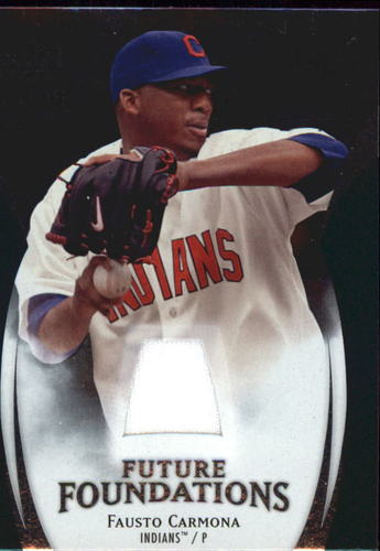 Photo of 2009 Upper Deck Icons Future Foundations Jerseys #FC Fausto Carmona