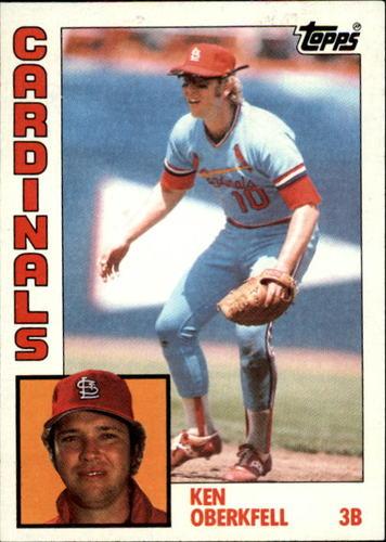 Photo of 1984 Topps #102 Ken Oberkfell