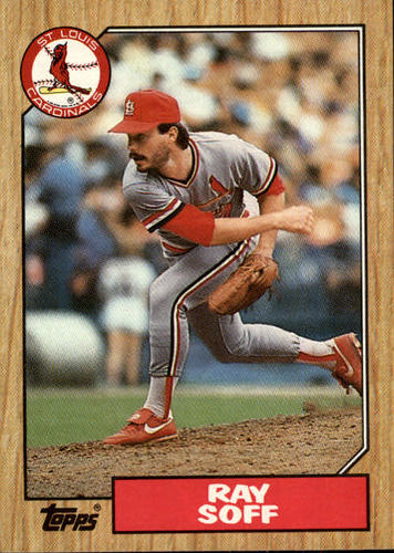 Photo of 1987 Topps #671B Ray Soff COR/(D* before/copyright line)