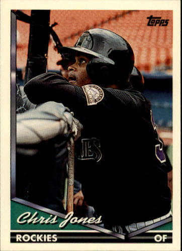 Photo of 1994 Topps #496 Chris Jones
