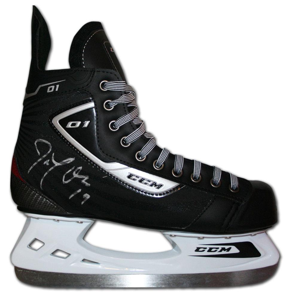 Joe Thornton Autographed CCM Hockey Skate (San Jose Sharks)