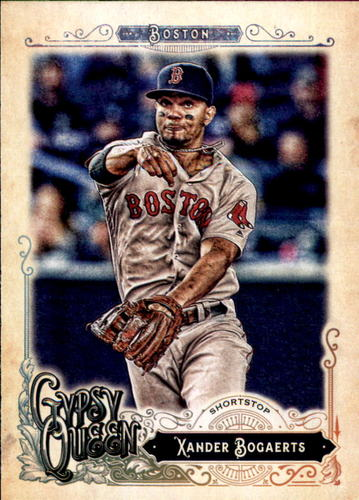 Photo of 2017 Topps Gypsy Queen #177A Xander Bogaerts