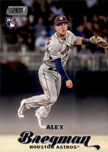 Photo of 2017 Stadium Club #195A Alex Bregman Rookie Card