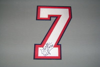 BILLS - GEORGE WILSON SIGNED JERSEY NUMBER