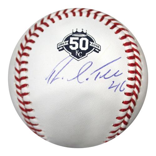 Photo of Autographed 50th Season Baseball: Ramon Torres