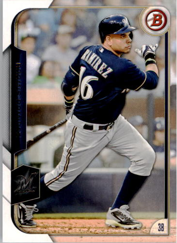 Photo of 2015 Bowman #108 Aramis Ramirez