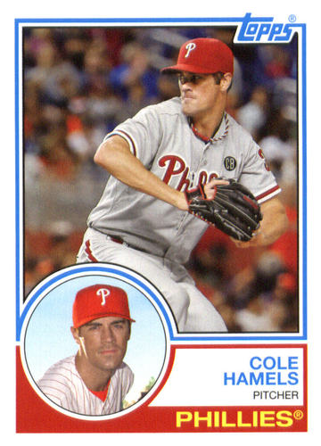 Photo of 2015 Topps Archives #244 Cole Hamels