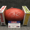 PCF - Patriots Week 17 Ticket Package (2 Tickets + Tom Brady signed authentic football w/ Super Bowl 52 logo)