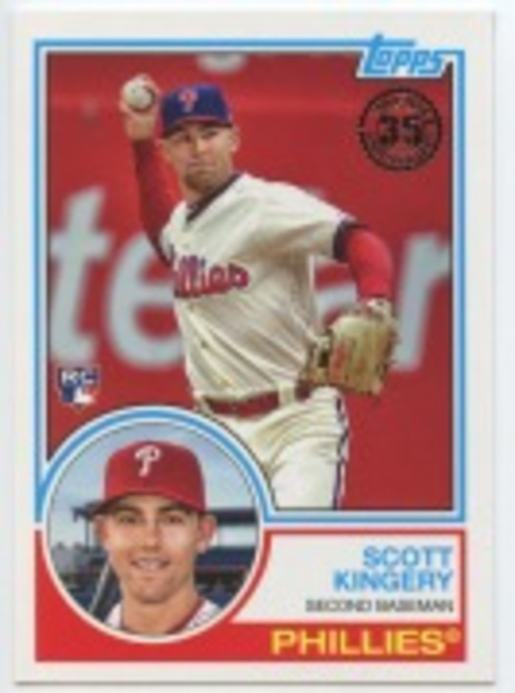 2018 Topps Update '83 Topps #833 Scott Kingery