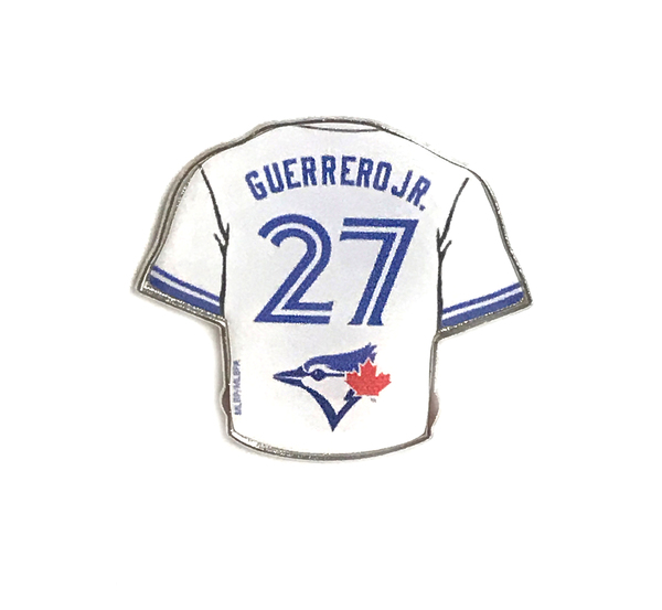 Toronto Blue Jays Guerrero Jr. Home Jersey Pin by Aminco