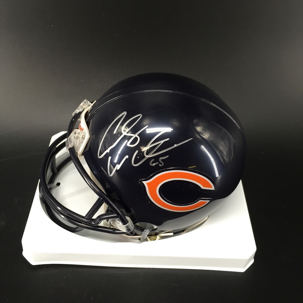 NFL - Bears Cody Whitehair Signed Mini Helmet