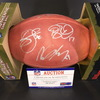 Texans - Multi Signed Authentic Football (Deandre Hopkins, Kevin Johnson , Vince Wilfork , Jadeveon Clowney, Lamar Miller, Brian Cushing, Brock Osweiler, Whitney Mercilus)