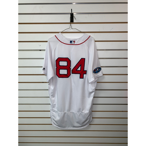 Photo of Ramon Vazquez Game Used April 5, 2018 Home Jersey