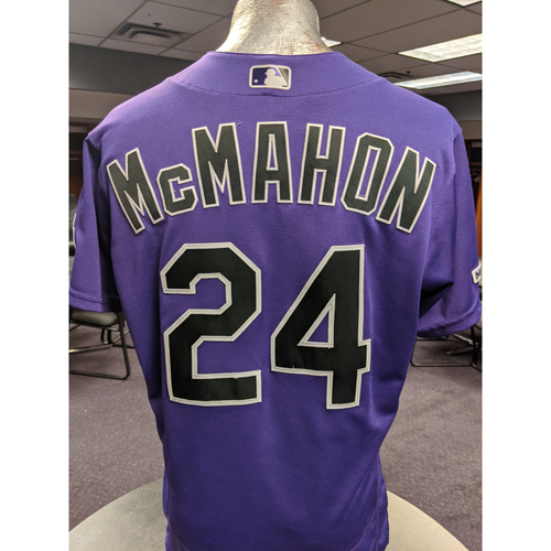 Photo of Colorado Rockies 2019 Game-Used Jersey: Ryan McMahon