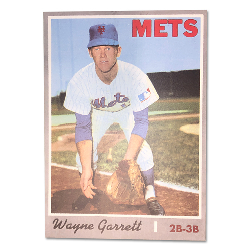 Photo of Wayne Garrett TOPPS Card - 1969 New York Mets On-Field Ceremony