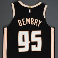 DeAndre' Bembry - Atlanta Hawks - Game-Worn City Edition Jersey - 2019-20 Season