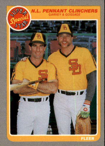 Photo of 1985 Fleer #633 Steve Garvey/Rich Gossage