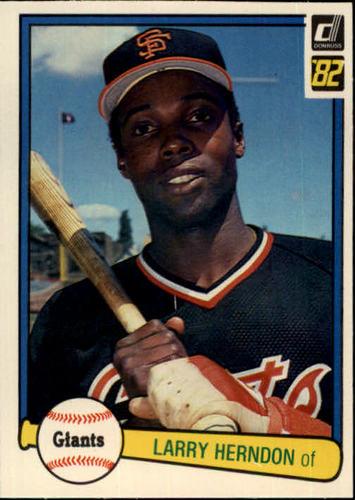 Photo of 1982 Donruss #172 Larry Herndon