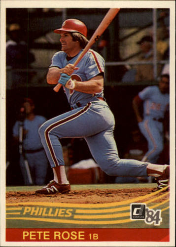 Photo of 1984 Donruss #61 Pete Rose
