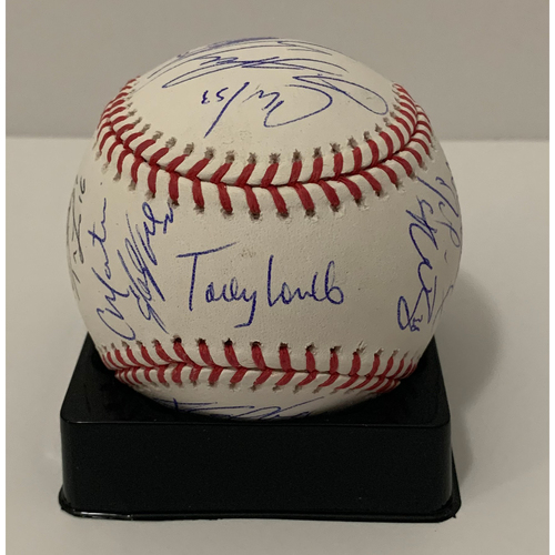 2020 Team Signed Baseball - Not MLB Authenticated - D-backs Certificate of Authenticity Included
