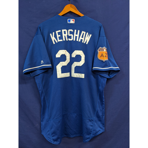 Photo of 2017 Team-Issued Clayton Kershaw Spring Training Jersey
