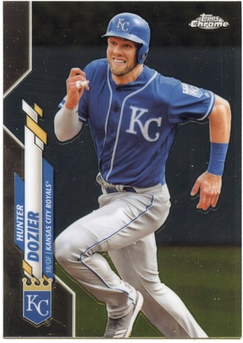 Photo of 2020 Topps Chrome #63 Hunter Dozier