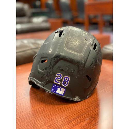 Photo of Colorado Rockies Team-Issued 2020 Helmet: Nolan Arenado