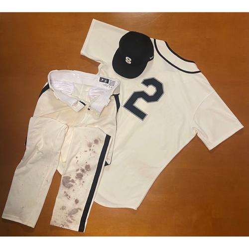 Photo of 2021 Game Used Seattle Steelheads Salute to Negro Leagues Uniform - #2 Tom Murphy
