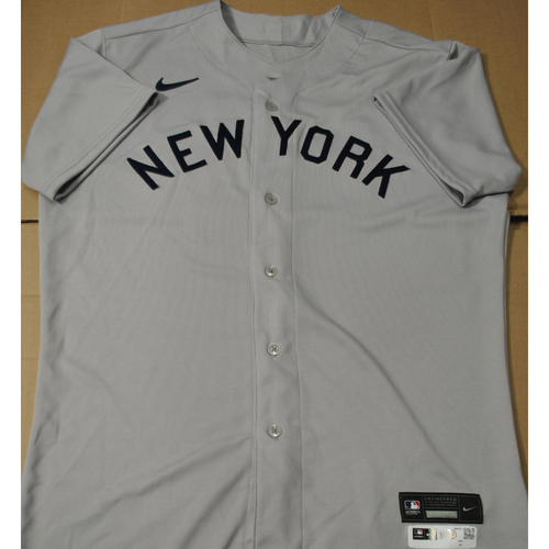 Photo of 2021 New York Yankees vs. Chicago White Sox in Dyersville, Iowa - Game-Used 1919 Throwback Jersey - Brody Koerner - Size 46
