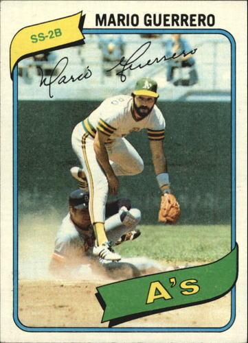 Photo of 1980 Topps #49 Mario Guerrero