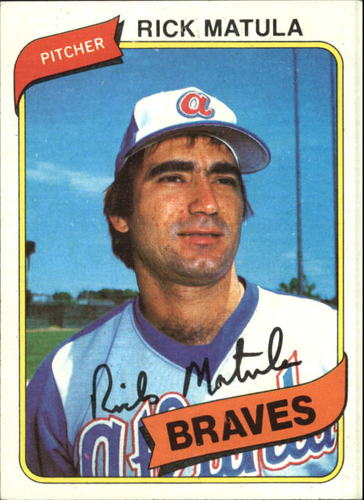 Photo of 1980 Topps #596 Rick Matula RC