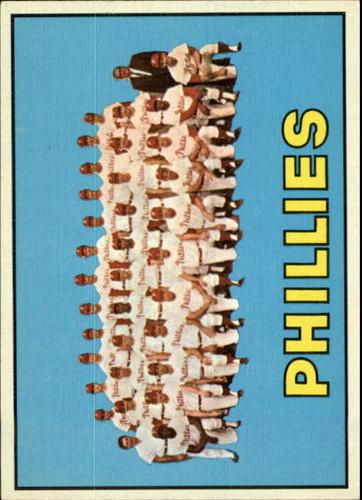 Photo of 1967 Topps #102 Philadelphia Phillies TC