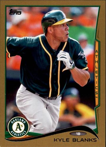 Photo of 2014 Topps Update Gold #US101 Kyle Blanks