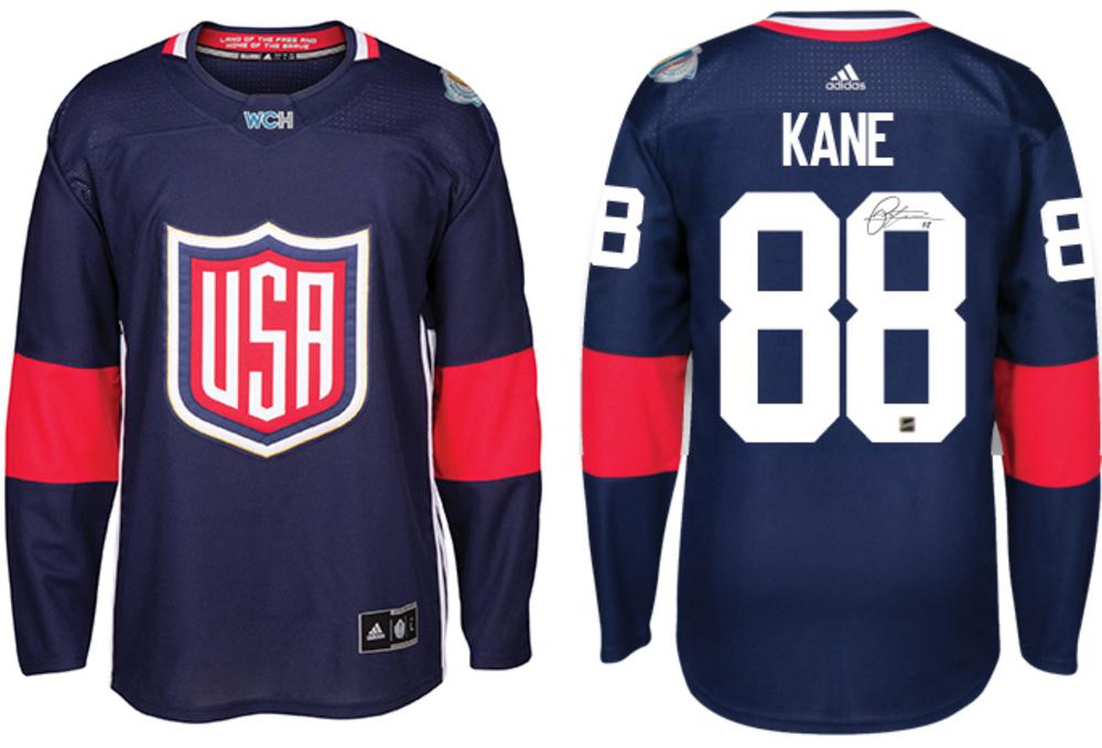 Patrick Kane - Signed USA 2016 World Cup Jersey