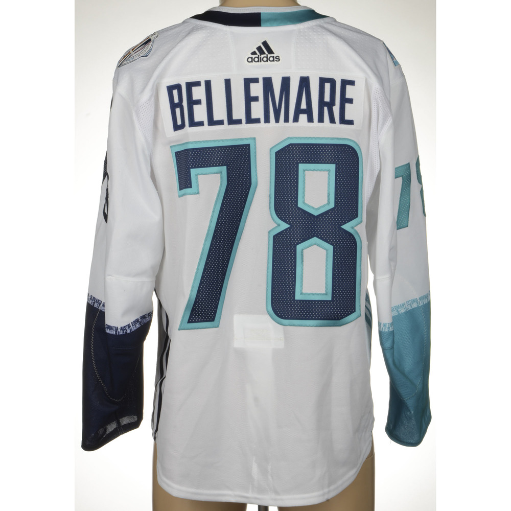 Pierre-Edouard Bellemare Philadelphia Flyers Game-Worn 2016 World Cup of Hockey Team Europe Jersey, Worn In Semifinal Game Against Team Sweden On September 25th