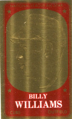 Photo of 1965 Topps Embossed #40 Billy Williams