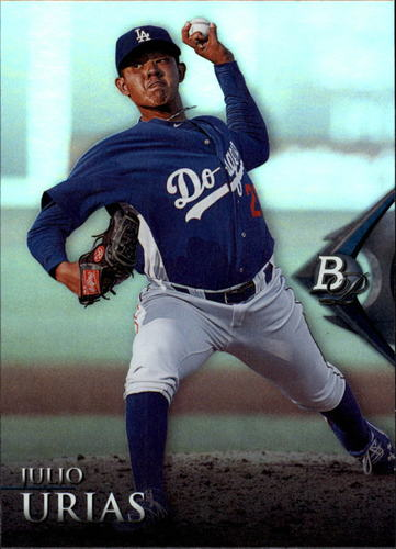 Photo of 2014 Bowman Platinum Prospects #BPP46 Julio Urias Pre-Rookie Card