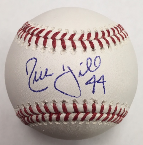 Rich Hill Autographed Baseball