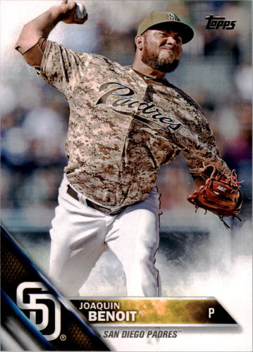 Photo of 2016 Topps #163 Joaquin Benoit